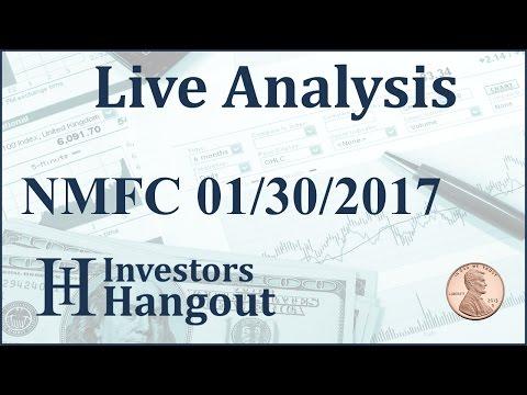 NMFC Stock Live Analysis 01-30-2017