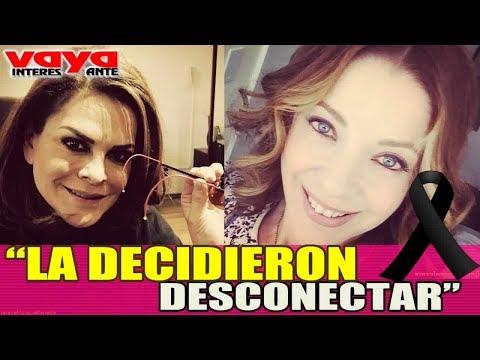 Mara Patricia Castañeda, confiesa que decidieron desconectar a Edith Gonzalez.