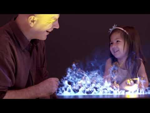 Wasserdampf Kamin Einsatz AFIREWATER ™ | 3D Wasserdampf Elektrokamin mit farbigen kalten Flammen