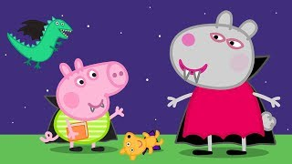 Peppa Pig Official Channel 🧛�♀� Vampire Suzy Sheep 🧛�♂� Halloween Special 🎃