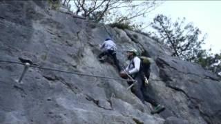 Klettersteig Zahme Gams : Klettersteig und klamm bei lofer u meine bergtouren