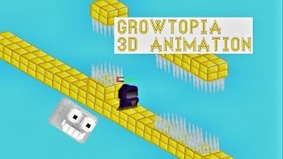 Growtopia 3D animation