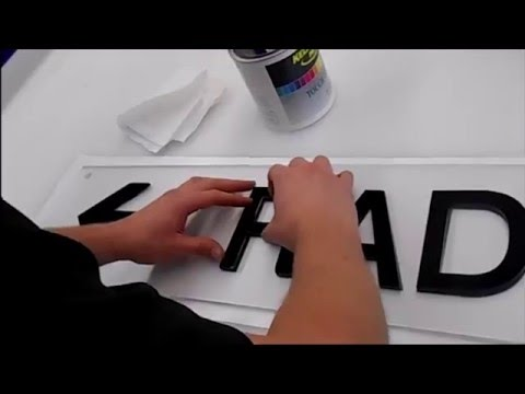 The Acrylic Sign Making