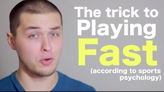 The trick for playing bass fast (according to sports psychology) [ AN's Bass Lessons #23 ]