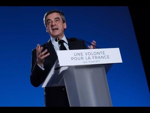 Réunion publique de François Fillon à Lyon