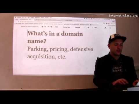 Names matter: domain name pricing, parking, and defensive acquisition.