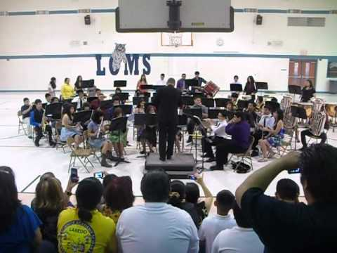 Loms Band-Spring concert (2012)-variations on a sailing song