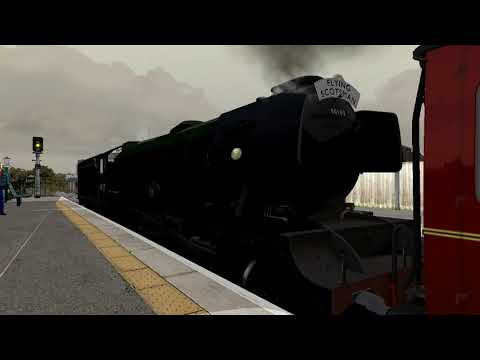 Train Simulator 2017 NRM Fleet move to Ropley