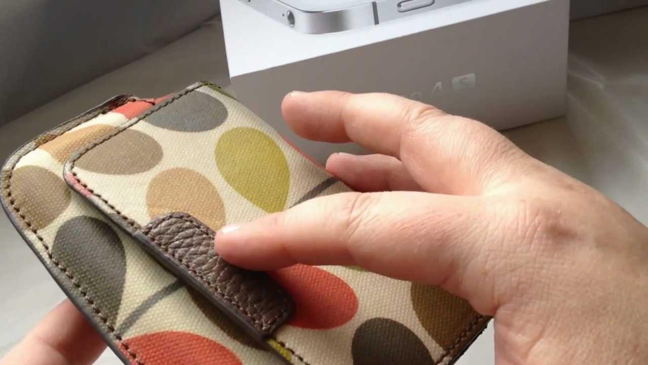 feea32dbc5 Orla Kiely Multi Stem Wallet Case for iPhone 4 / 4S / 3G / 3GS - YouTube