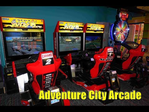 Adventure City Arcade Tour October 2017 Clifton Hill, Niagara Falls Ontario Canada
