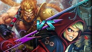 Sun Wukong vs Scylla - Ranked 1v1 Joust - Smite