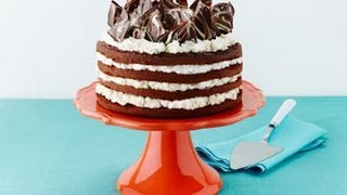 How To Make A Triple-chocolate Layer Cake