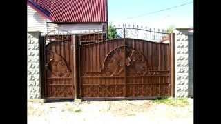 видео кованые ворота каталог