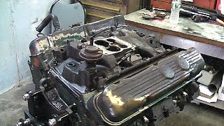 455 BUICK ENGINE VALVE COVERS & INTAKE REMOVAL: PART 4