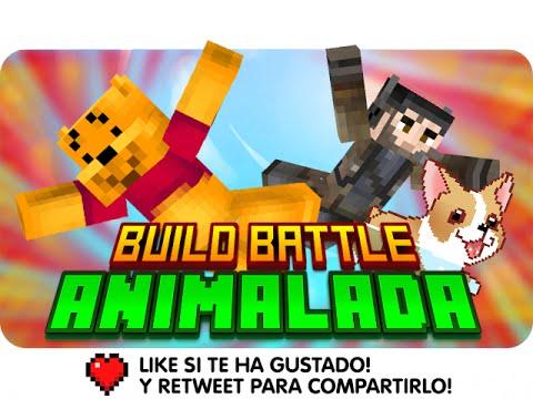 ¡MENUDA ANIMALADA! BUILD BATTLE | Minecraft - Gona Y Luh