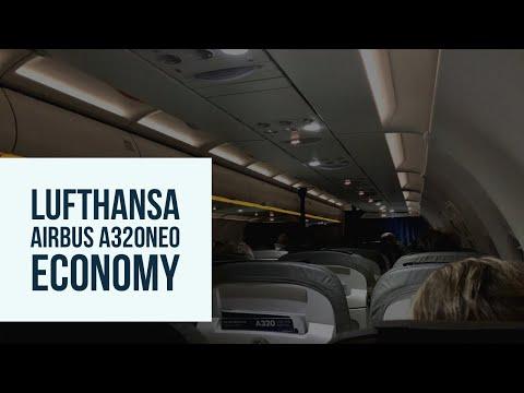 Lufthansa Airbus A320neo | LHR-FRA | Economy