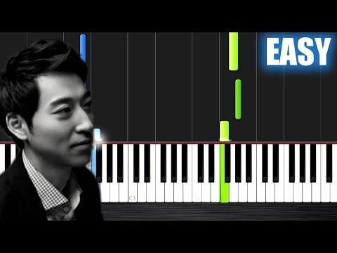 Yiruma  Kiss The Rain  EASY Piano Tutorial  Plutax