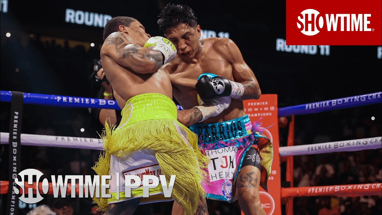 Download Gervonta Davis Stops Mario Barrios With Crazy Body Shot In Round 11   SHOWTIME PPV