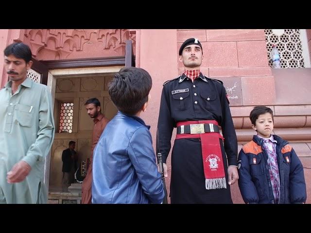 Little Professor Hammad Safi At Mazar e Iqbal