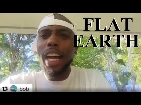 Flat Earth - Rapper B.O.B. responds to Bill Nye ✅ thumbnail