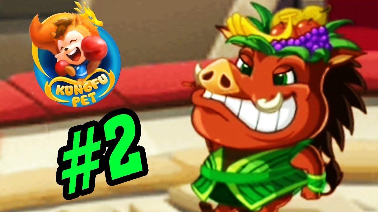 Kung Fu Pets Game Mobile - Lợn Rừng Hoa Quả - Thế Giới Muôn Thú Android, Ios #2