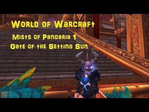 World of Warcraft Gate of the Setting Sun walkthrough