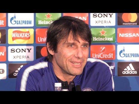 Antonio Conte Full Pre-Match Press Conference - Chelsea v Barcelona - Champions League