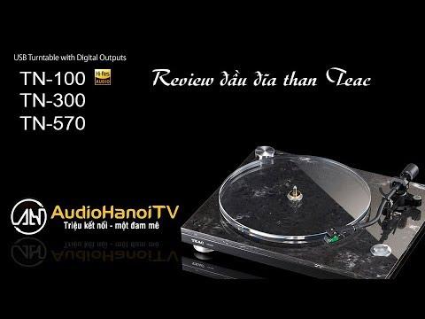 [AudioHanoiTV] Số 44: Review đầu đĩa than Teac