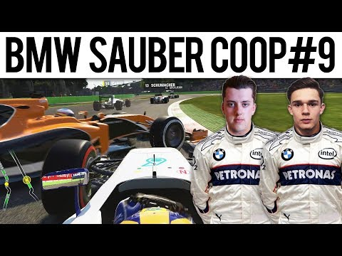 F1 2017 Mod BMW Sauber Coop #9 | ITALY | DOUBLE LAST TO FIRST?!