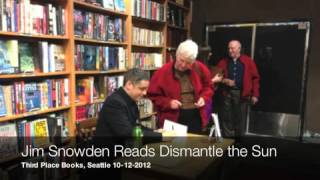 Dismantle the Sun Reading at Third Place Books