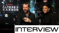 Altered Carbon: Interview mit Renée Elise Goldsberry und James Purefoy zum SciFi-Drama