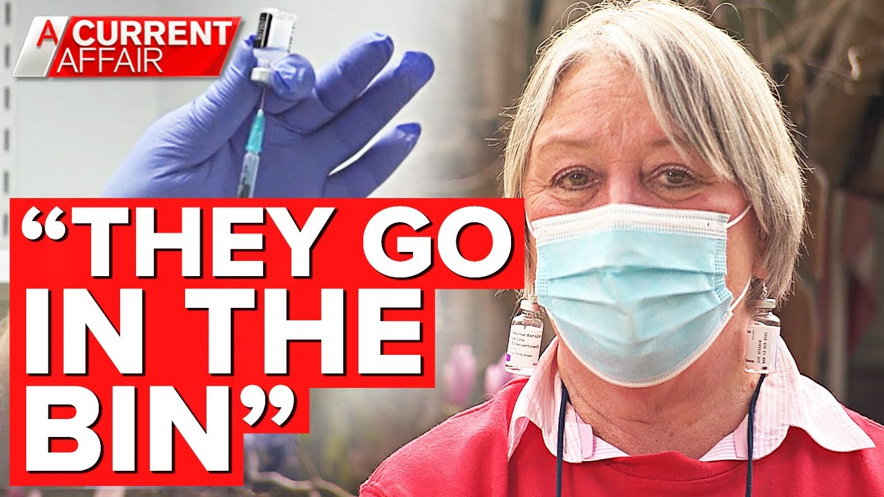 Nurse sacked for giving spare COVID vaccine doses to family members | A Current Affair