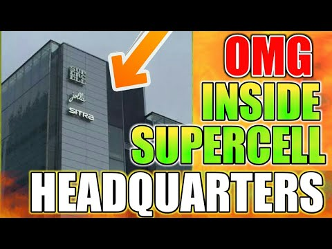 Wow small tour inside supercell headquarters 2018!