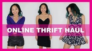 ONLINE THRIFT HAUL | TRY-ON + TIPS