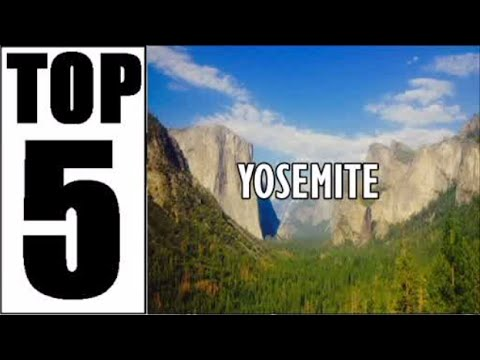 YOSEMITE, CALIFORNIA | Top 5 Things To Do