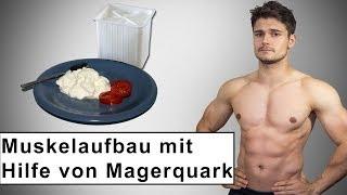 Muskelaufbau mit Hilfe von Magerquark