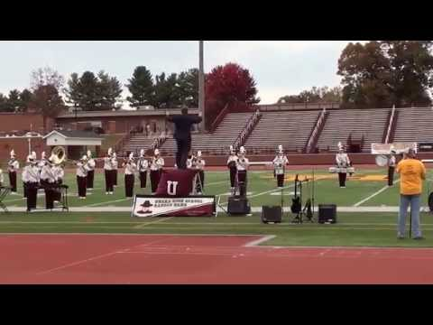 Unaka High School Marching Band - The Karate Kid - 10/24/2015