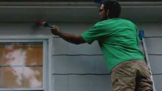 How to Caulk Asbestos Shingle