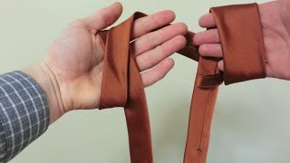 Fast and easy way to tie a tie hindi clipzui how to tie your tie in less than 5 seconds ccuart Images