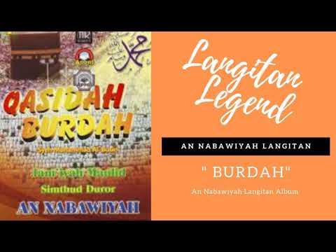 An Nabawiyah Langitan Full Album Burdah Mp3   Sholawat Langitan Lawas Full Album