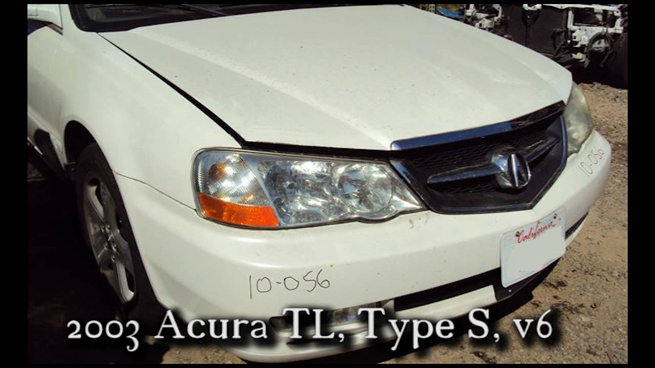Acura TL Type S Parts AUTO WRECKER RECYCLER Ahpartscom Acura - 2003 acura tl type s parts