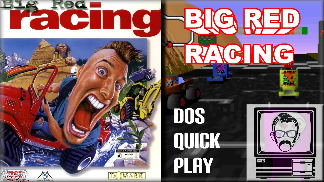 Big red racing dos quickplay nostalgia nerd youtube for Big red racing