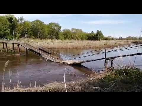 Жители микрорайона СРН в Спасске-Дальнем остались без моста