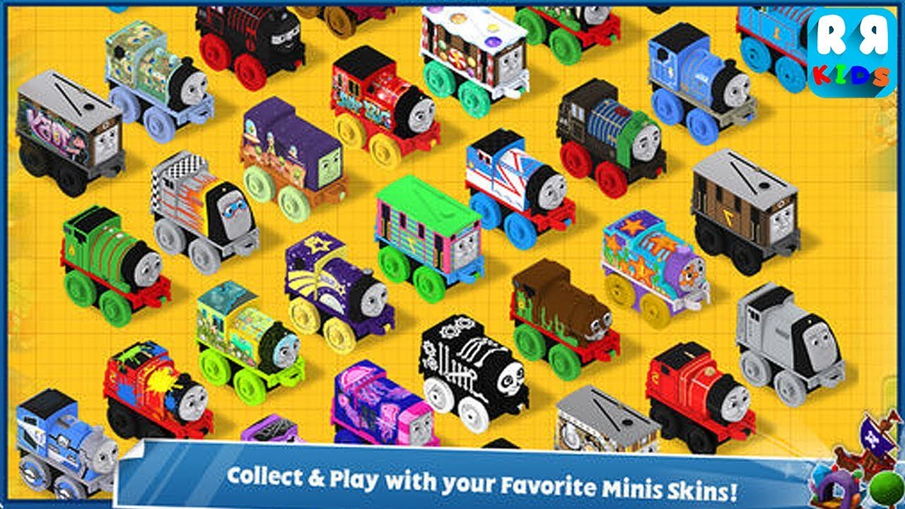 Thomas and Friends Minis (By Budge Studios) – Unlock All Train, Building and Track – iOS / Android  #Smartphone #Android
