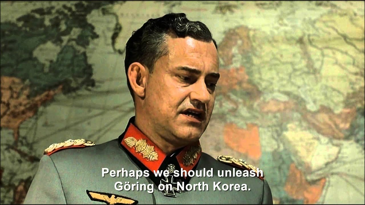 Hitler plans to defeat Kim Jong Un