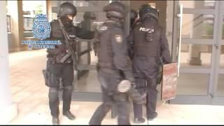 La Policía Nacional Aragón detiene a 9 narcotraficantes dedicados a elaborar y distribuir cocaína