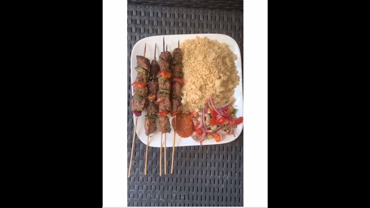 Have you tried this before? Ivorian beef skewers with Attiéké 🇨🇮