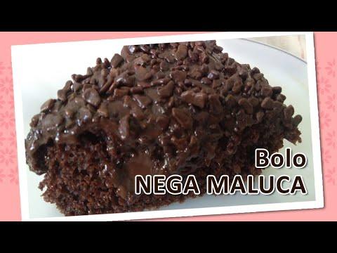 Bolo NEGA MALUCA - Receita fácil - Donnabela Confeitaria Artesanal