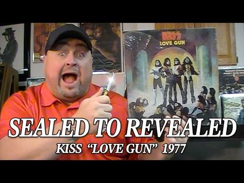 "Sealed To Revealed - KISS ""Love Gun"" 1977"