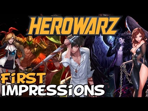 "HeroWarz First Impressions ""Is It Worth Playing?"""
